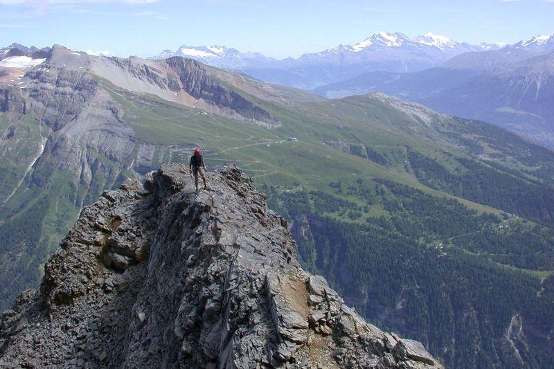 Klettersteig Leukerbad : Wintersperre für wanderwege und klettersteig