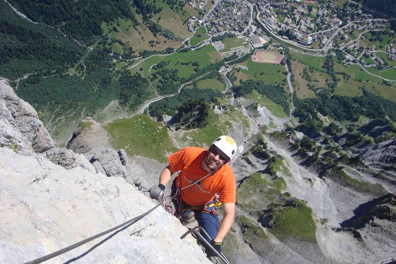 Klettersteig Leukerbad : Via ferrata leukerbad