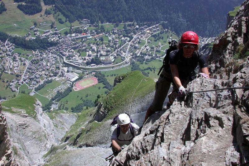 Klettersteig Daubenhorn : Klettersteig daubenhorn