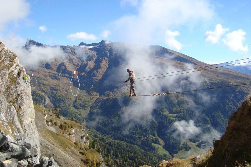 Klettersteig Leukerbad : Via ferrata klettersteig leukerbad wallis schweiz technische date