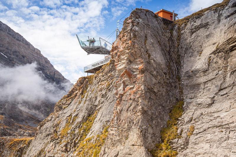 Klettersteig Wimmis : Wiwanni hütte klettersteig baltschiedertal wiwannihütte