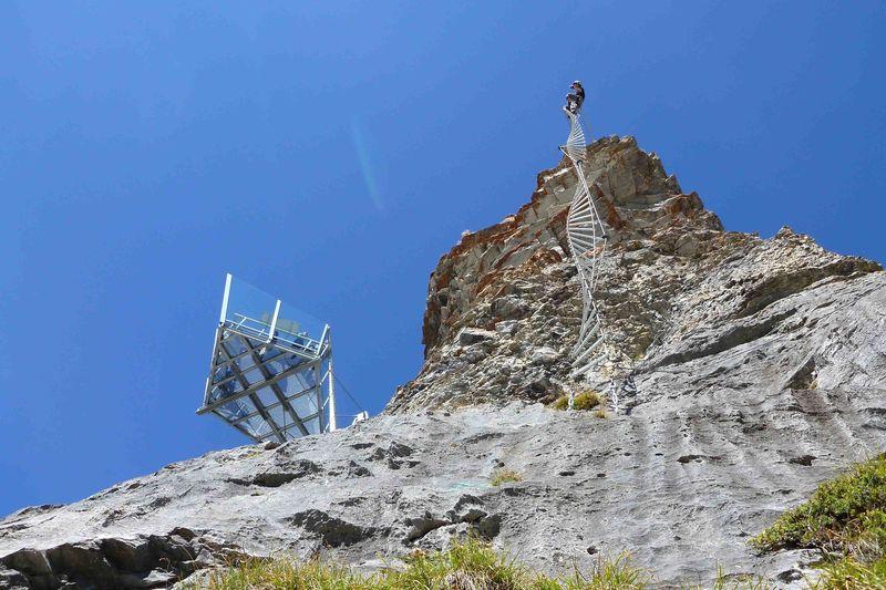 Klettersteig Schweiz : Klettersteig gemmiwand