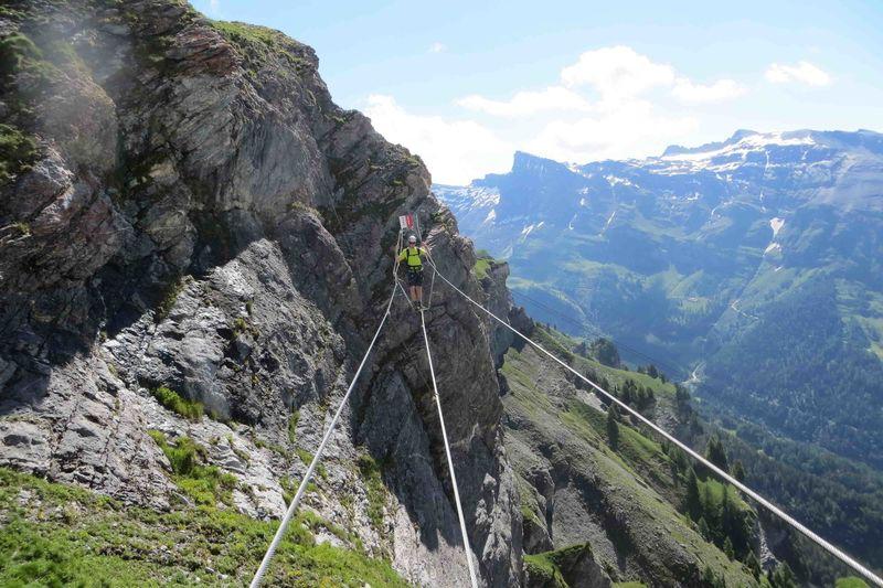 Klettersteig Leukerbad : Klettersteig leukerbad on vimeo
